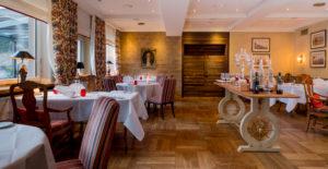 Das Restaurant Novalis des Hotels. Foto: Hardenberg BurgHotel