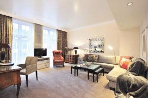 Eine der Suiten. Foto: Hardenberg BurgHotel