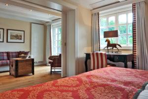 Weiterer Einblick in ein Zimmer. Foto: Hardenberg BurgHotel