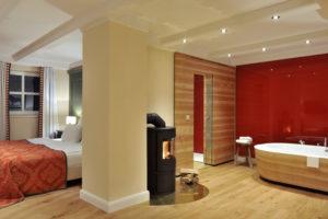 Einblick in eins der Zimmer. Foto: Hardenberg BurgHotel