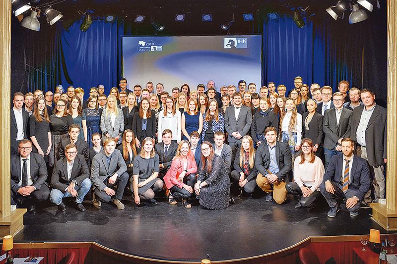 Große Bühne für Niedersachsens beste Auszubildende. Foto: Isabel Winarsch