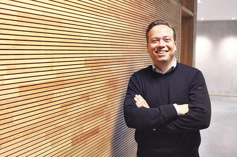 Moritz von Soden (42) fährt zwei Mal im Jahr zu den Sitzungen des Mittelstandsbeirats nach Berlin. Foto: Georg Thomas