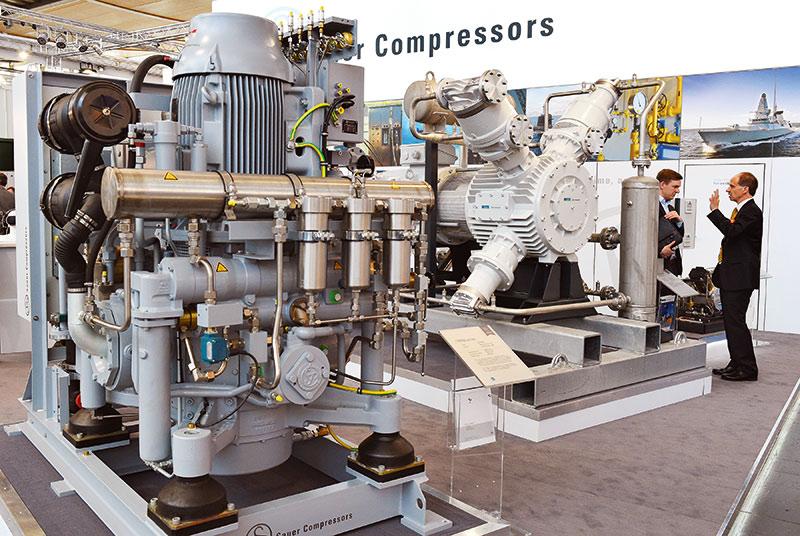 Alle zwei Jahre Teil der Hannover Messe: Bei der ComVac geht es in diesem Jahr wieder um Drucklufttechnik. Foto: Deutsche Messe