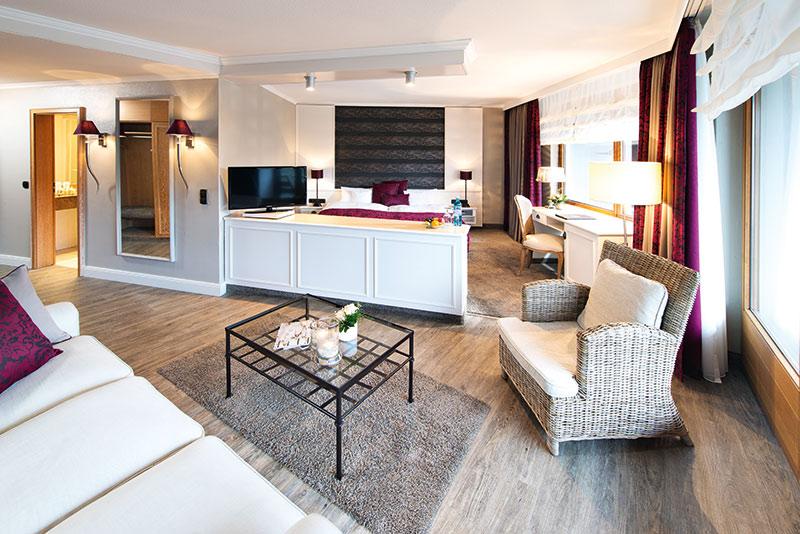 Die Zimmer und Suiten sind in verschiedenen Stilen eingerichtet – von modern über klassisch und mediterran bis hin zu romantisch. Foto: Andreas Rehkopp