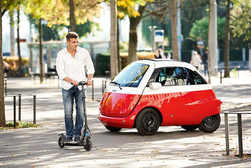 Knutschkugel, elektrisch: Auch die Reinkarnation der Isetta wird in Hannoverzu sehen sein. Foto: Deutsche Messe AG
