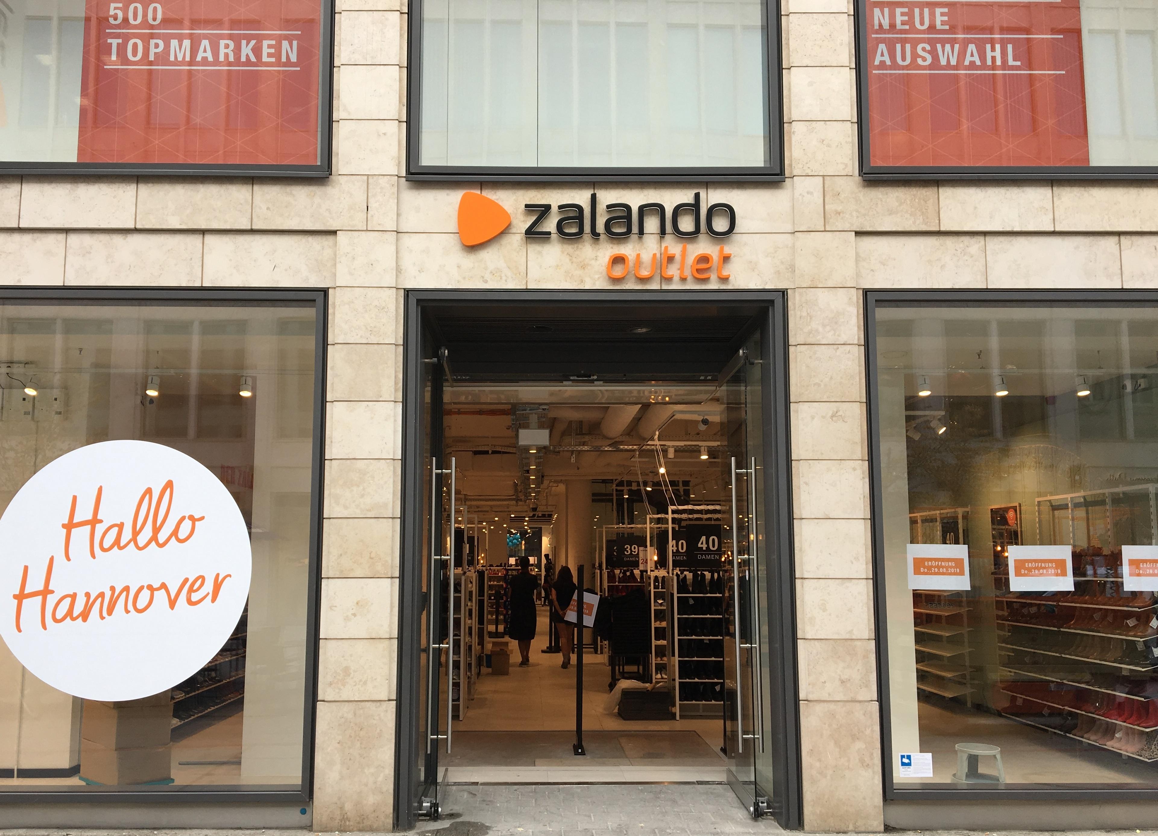 promo code 52214 7f638 Zalando-Outlet eröffnet morgen in Hannover - nw-ihk.de