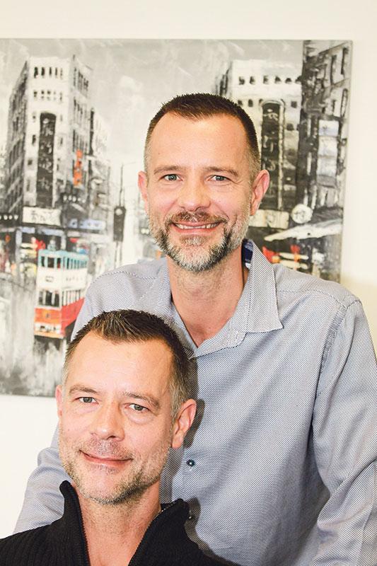 Markus (oben) und Michael Goch.