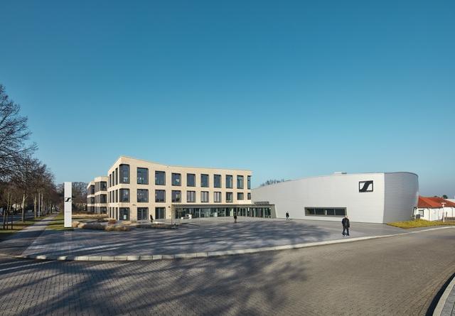 Die Sennheiser-Zentrale in der Wedemark.