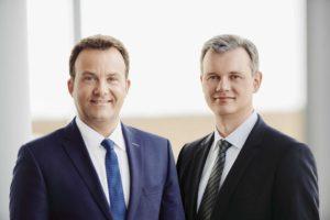 Die htp-Geschäftsführer Thomas Heitmann (l.) und Karsten Schmidt. Foto: htp GmbH